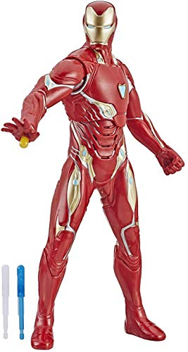 Marvel Avengers Avengers: Endgame Repulsor Blast Iron Man 13-Inch-Scale Figure Featuring 20+ Sounds and Phrases