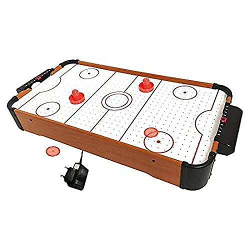 Raaya Wooden Air Hockey Table for Kids and Adults Air Hockey Table Top Accessories