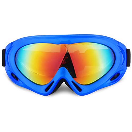 Outgeek Ski Goggles Windproof Anti-Fog Snowboard Goggles Snow Polarized Goggles UV Portestion for Outdoor Sporting Cycling