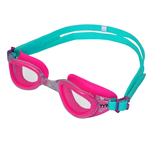 TYR Blend Special Ops 2.0 Transition Women's Goggles (Clear-Pink-Mint)