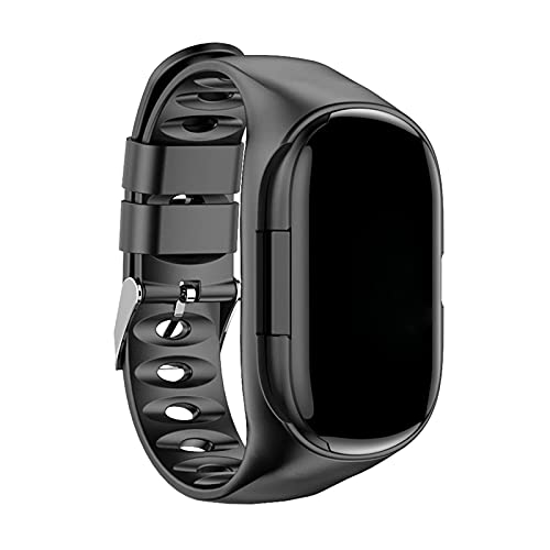 WorldCare® 2-in-1 Smart Watch with True Wireless Earbuds Fit Tracker True Wireless Headphones Step Calorie Counter Activity Tracker Smart SSSSS Wrist Band Heart Rate Monitor