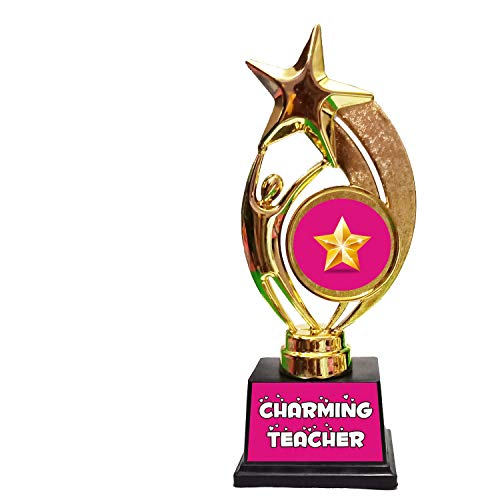Family Shoping Teachers Day Gifts, Birthday Gifts, Charming Teacher Trophy for Teachers Day Birthday Gifts for Teachers