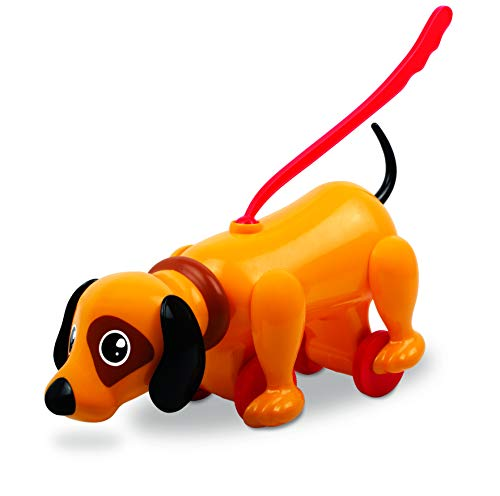 Giggles - Sniffy The Dog , Pull Along Toy , Head bobs,Tail Wags,Encourages Walking , 12 Months & Above , Infant and Preschool Toys