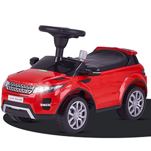 Baybee Licensed Range Rover Baby Ride on Kids Ride On Push Car for Toddlers   Baby car Toy Children Rider & Infant Baby car Toys   Kids car Suitable for Boys & Girls (1-4 Years) (Rover Red)