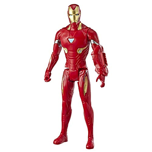 Marvel Avengers Super Hero Action Figure Toy With Titan Hero Power Fx Port (12 Inches, Multicolor)