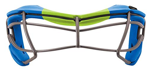 STX Lacrosse Rookie-S Youth Goggle, Blue/Lime, OS