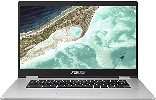 ASUS Chromebook Celeron Dual Core - (4 GB/64 GB EMMC Storage/Chrome OS) C523NA-BR0300 Thin and Light Laptop (15.6 inch, Silver, 1.43 Kg)
