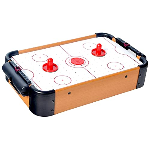 Prime Wooden Indoor Air Hockey Game Mini Table Top Game for Kids Teens and Adults Pack of 1