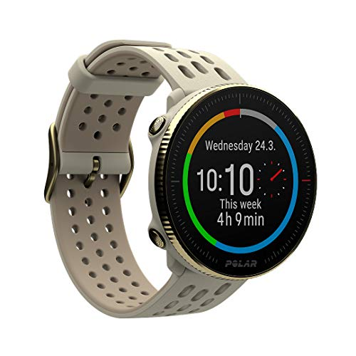 Polar Vantage M2 - Advanced Multisport Smart Watch - Integrated GPS, Wrist-Based Heart Monitor Daily Workouts - Sleep and Recovery Tracking - Music Controls, Weather, Phone Notifications