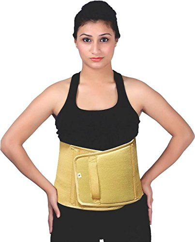 Abdominal Support Belt (9 inch Wide)/ Post Operative/Post Pregnancy Support Belt - X-Large (Waist - 42-44 inches)