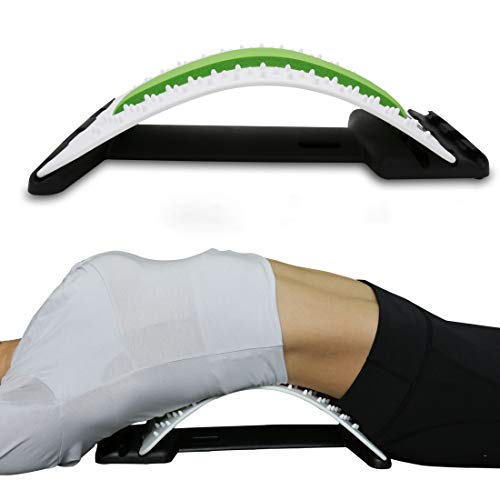 FORLRFIT Back Stretcher-Lower and Upper Back Pain Relief,Lumbar Support Posture Corrector, Back Support for Office Chair