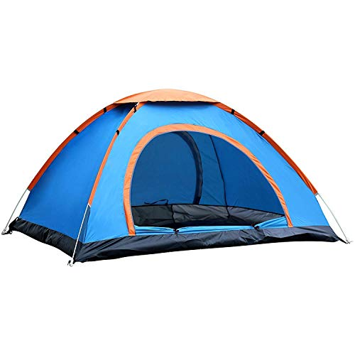 Cpixen Tent for 8 Person - Hiking Tent Picnic Camping Outing Tent for 8 Person Waterproof Durable Quality Fabric & Pole Frame