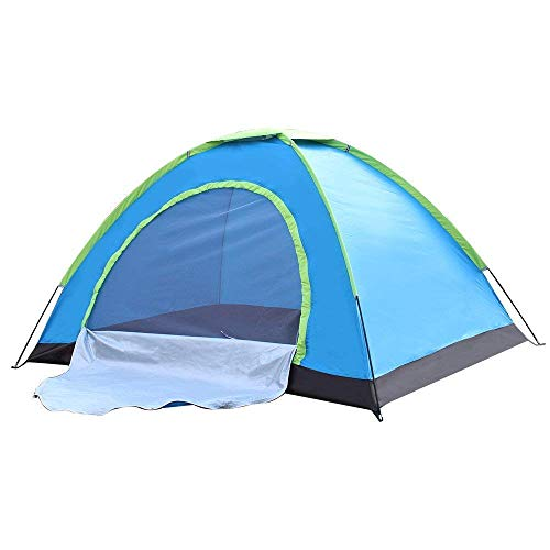 CPEX Outdoor Waterproof Polyester Tent for Picnic, Trekking & Camping - Two Persons, Multicolour