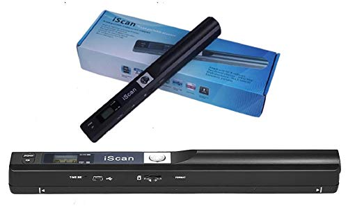 Microware Portable Wireless Handheld Document Scanner Kit Mini Pen Scanner for Document and Image A4 Size 900DPI JPEG/PDF Format