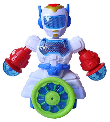 Toyshine Gizmo Robot | Colorful Lights and Music | All Direction Movement | Dancing Robot Toys for Boys and Girls