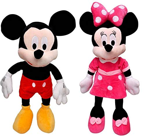 SCOOBA Kids Favourite Combo Pack of Mouse Plush Soft Toy 35cm Height Multi Colour