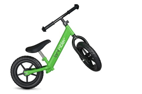 Brilrider Balance Bike for 1-5 Year-Old Toddlers (Green)