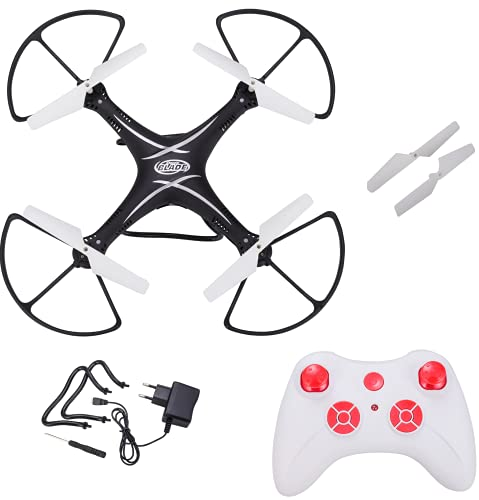 SuNZita Toy Drone AEROCRAFT Altitude Hold 2.4 GHz Drone without Camera - No Camera Drone - This is a kids drone without camera. It is beginners Drone- Pack of 1 - Black