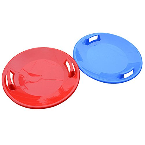 Generic Plastic Snow Steerable Sled Plate Freestyle Skiing Sand Board Kid Snow Dish Sand Board