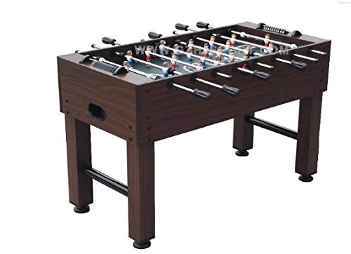 BOOT BOY - KICKER TABLES FTSI Approved and CARB Certified MDF Construction Wooden Foosball Tables (48x24x32 Inches, Wenge)