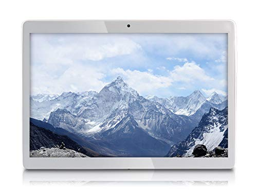 FUSION5 4G Tablet (24.38 cm/9.6 inch, 32GB, Wi-Fi + 4G LTE + Voice Calling, 8MP Camera, Bluetooth, Android 8.1 Oreo Google Certified Tablet PC, White)