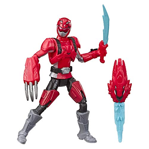 Power Rangers Beast Morphers Red Ranger (Red Fury Mode) 6-inch Action Figure Toy Inspired by The TV Show