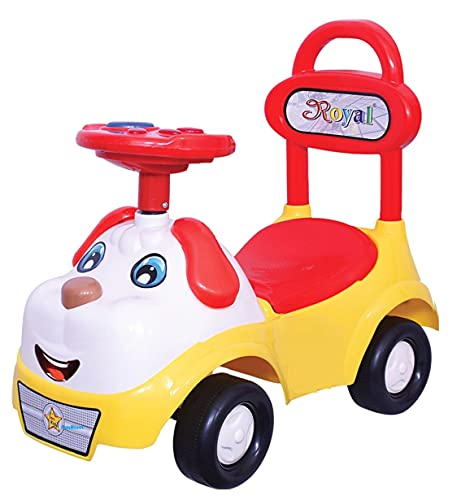 FunBlast Baby Ride Car, Kids Ride On Car for Toddlers, Children Rider & Infant Baby Hop-Hop Sound Car Rider, Suitable for Boys & Girls -Multicolor