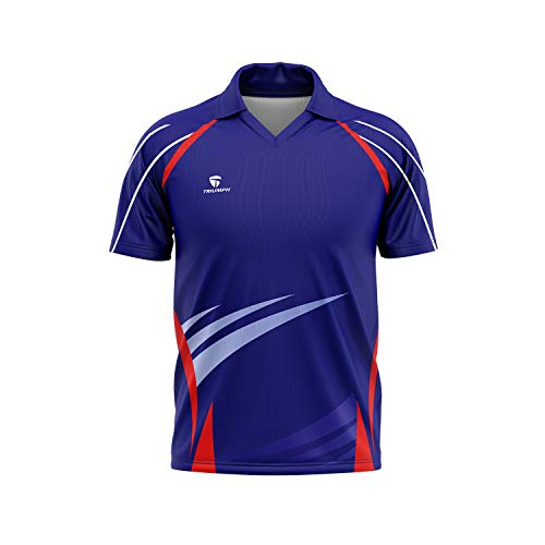 Triumph Men's Polyester Printed Rugby Jersey Size XL