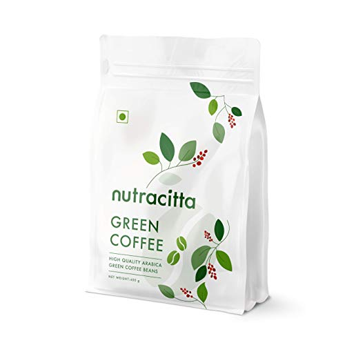 Nuracitta Green Coffee Beans Your Natural Immunity Booster And Weight Loss Partner - 400 grams