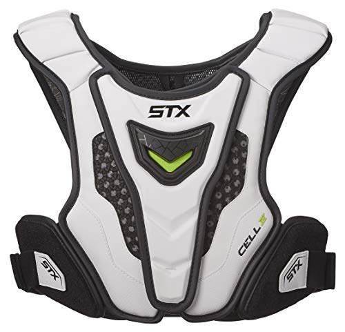 STX Lacrosse Cell 4 Shoulder Pad Liner, White, Small