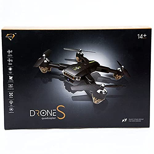 Toyify Tracker Drone with Basic Quality Camera with Remote Control & Mobile App Flying Option (Photo/Video Options)