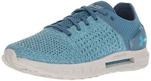 Under Armour Women's HOVR Sonic Running Shoe, Static Blue (303)/Ghost Gray, 10