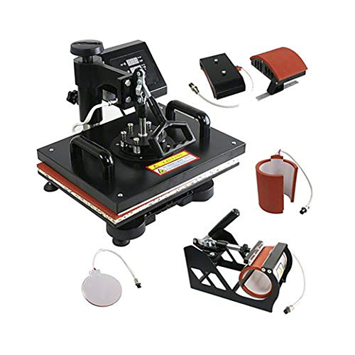Print Digits 5 in 1 Sublimation Heavy Duty Machine