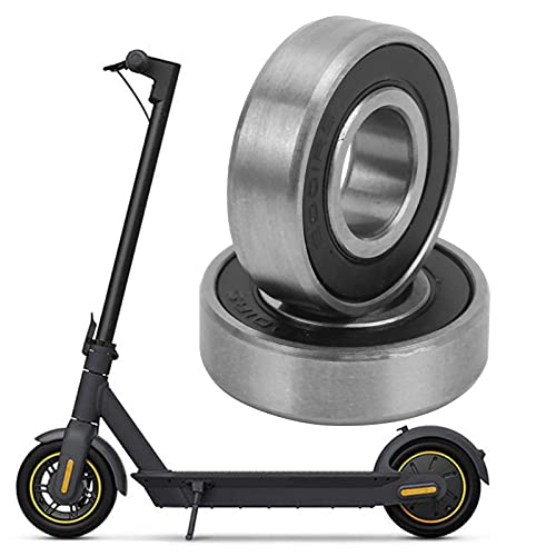 Electric Scooter Rear Wheel Bearings, Corrosion‑resistant Dust Cover Bearing Wheel Ball Bearings for Electric Scooters