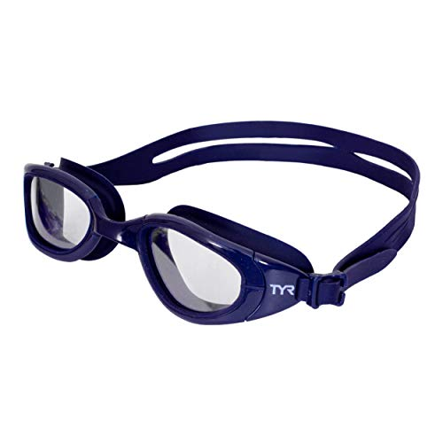TYR Special Ops 2.0 Transition Swim Goggles (Clear/Navy)