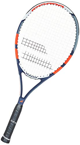 Babolat Pulsion 105Tennis Racquet (Grey red blue white)