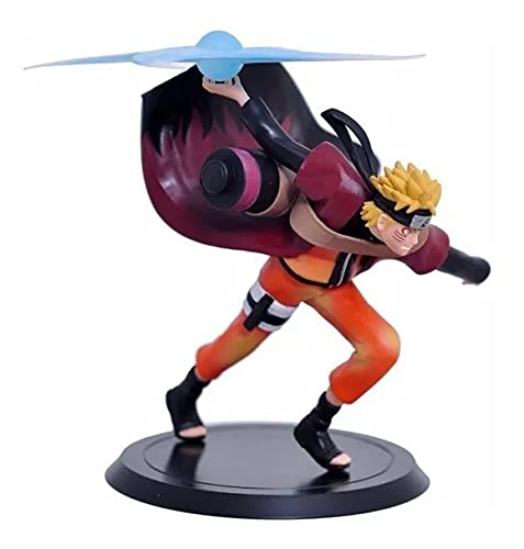 Flying Naruto Action Figure Miniature Doll (Toy Figure) Limited Edition for Car Dashboard, Decoration, Cake, Office Desk & Study Table (Pack of 1)(Height 18cm)