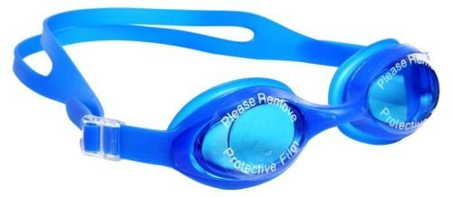 Inditradition Slip-Resistant Swimming Goggles With Earplugs (Color May Vary)