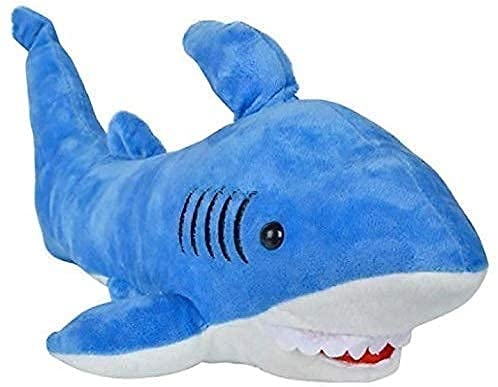 CONCEPT RACING Shark Soft Toy Stuffed Plush Toy for Kids, Plush Pillows for Baby Girls, Children (40 cm, Blue) Desgn 2