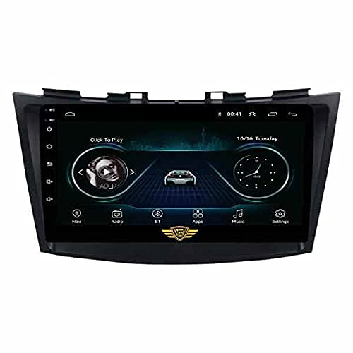 Ateen Suzuki Old Ertiga(2011-17), 9' inch Double din Android Music System/Player/Stereo with 2GB Ram/16GB ROM/Bluetooth/Navigation/USB/Radio System/Split Screen/Mirror Link Support iOS/Android