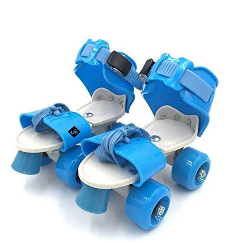 Doliva Roller Skates for Kids Age 5-12 Years Adjustable 4 Wheel Skating Shoes Very Smooth (Multi Color)