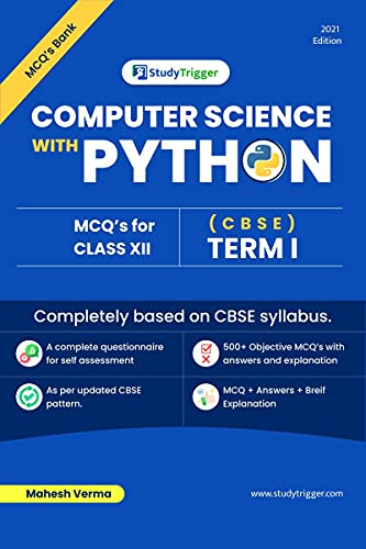 Computer Science with Python MCQ Bank: CBSE Term I