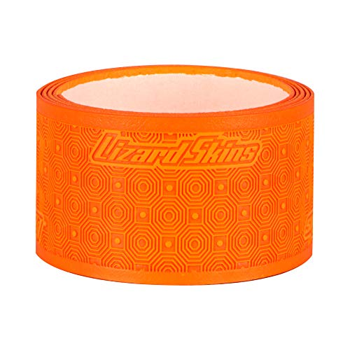 Lizard Skins 0.5mm Lacrosse Grip Tape V2 Solid Slip Resistant - 39 Inches - 99cm - Fits Any Lacrosse Stick – LAX Stick Grip Tape (Tangerine)
