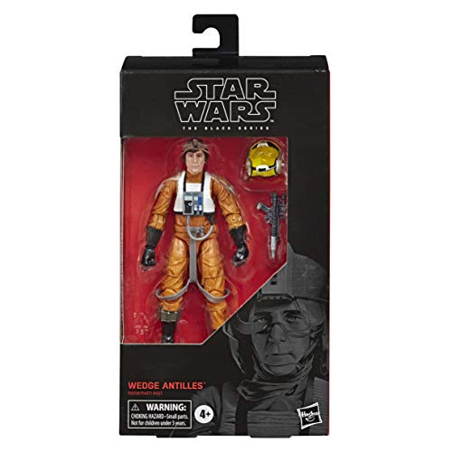 Star Wars The Black Series Wedge Antilles, the Empire Strikes Back Collectible Action Figure, Kids Ages 4 and Up