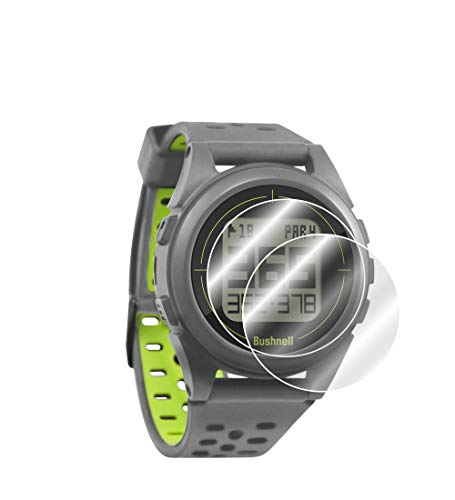 IPG for Bushnell Neo Ion 2 Golf GPS Watch Screen Protector (2 Units) Invisible Ultra HD Clear Film Anti Scratch Skin Guard - Smooth/Self-Healing/Bubble -Free by