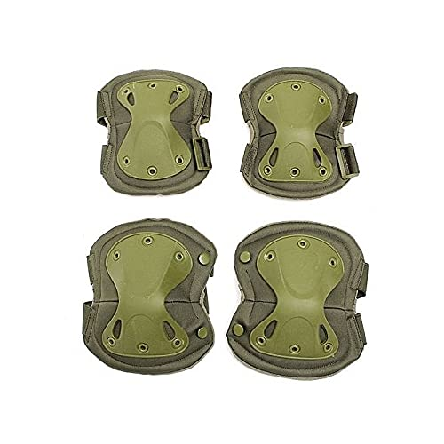 Mountcraft Military Tactical Protective Kneepad & Elbow Sports Safety Protective Kneeling Sports Hunting Skate Scooter Knee Pads