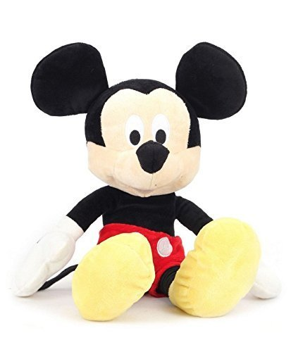 Gaju Mickey Mouse Soft Toy (Small, Multicolor)