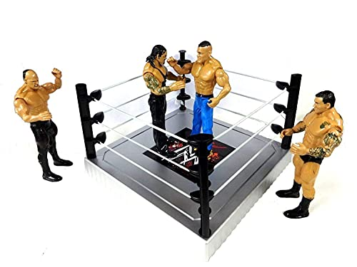 TOYICO!™ Action Figures Models with Weapons Ring Ultimate Warrior Power Set of 4 (Fighting Heros)
