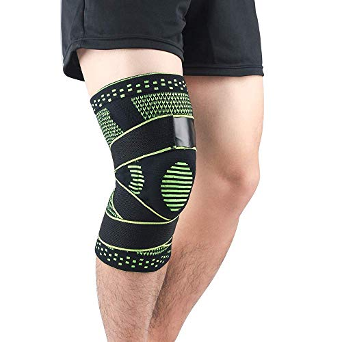 WorldCare® Pair of Knee Braces Support Protector Knee Pad Compression Sleeve Non-Slip for Men Women Hi Soccer Basketball-CS-A-35267