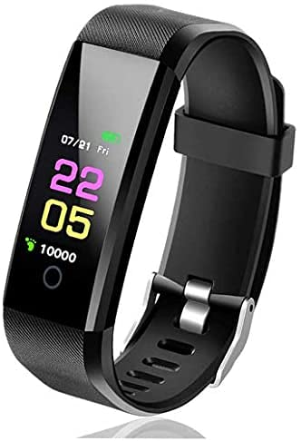 High-End Fitness Trackers HR, Activity Trackers Health Exercise Watch with Heart Rate and Sleep Monitor, Smart Band Calorie Counter, Step Counter, Pedometer Walking for Men Women